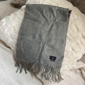 Wool/cashmere pashmina